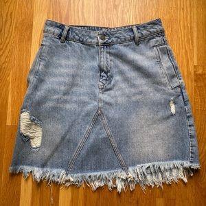 Allsaints Denim Skirt Size 6